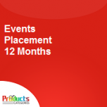 Events Placement 12 Months